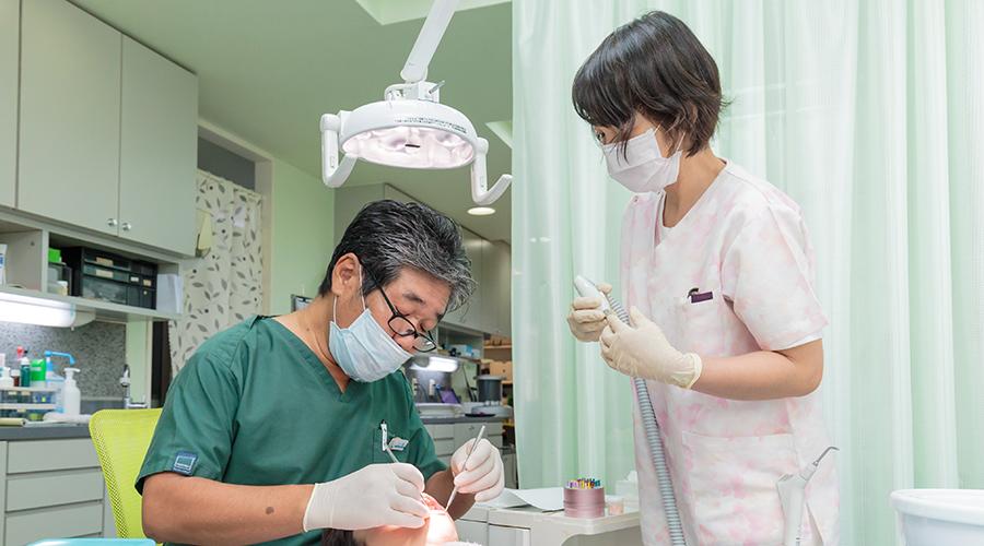 2. 一般歯科(むし歯・歯周病・小児歯科)